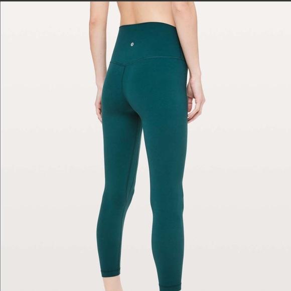 13efa160c4 lululemon athletica Pants | Lululemon Align Pant Ii 25 Royal Emerald ...